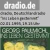 """Buchbesprechung, """"Ins Leben gestemmt"""", Radio"""