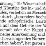 Ehrenkreuz für Georg Paulmichl - Artikel, Dolomiten, 27.04.2007