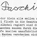 Faschingsball - ein Text von Georg Paulmichl