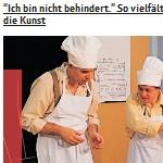 Ich bin nicht behindert – so vielfältig ist die Kunst - Artikel, franzmagazine.com, 24.02.2012