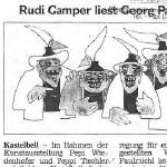 Rudi Gamper liest Georg Paulmichl - Artikel, Dolomiten, 14.10.2005