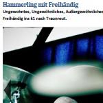 Hammerling mit Freihändig - am 26.09.2013, Lesung mit Konzert, Traunreut, k1-Studio