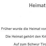 Heimat - ein Gedicht von Georg Paulmichl