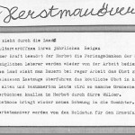 Herbstmanöver - ein Text von Georg Paulmichl