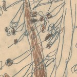Georg Paulmichl, Zeichnungen 1968/1969 - Jupident, Zeichnungen, Schuljahr 1968/1969