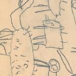 Georg Paulmichl, Zeichnungen 1969/1970 - Jupident, Zeichnungen, Schuljahr 1969/1970
