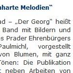 Furchtbare Gemütlichkeit, knochenharte Melodien - Artikel, Der Vinschger, 05.11.2008