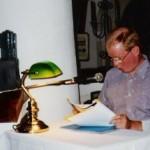 Georg Paulmichl liest in Neumarkt - am 26.04.1997, Lesung zur Ausstellung, Sitzungssaal, Unterland in Neumarkt