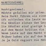 Marktgewimmel - ein Gedicht von Georg Paulmichl