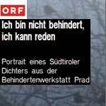 Ich bin nicht behindert, ich kann reden, ORF, 1991 - Filmfeature von Bert Breit