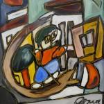 Der Georg in Prad, Selbstportrait