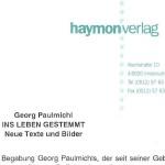 Ins Leben gestemmt, Haymonverlag, Presseinformation - Presseinformation zum Rezensionsexemplar