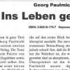 Unipress – Georg Paulmichl: Ins Leben gestemmt
