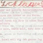 Schlagersänger - ein Text von Georg Paulmichl