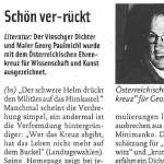 Schön ver-rückt - Artikel, ff, 03.05.2007