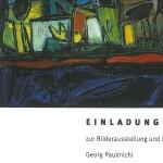 Ausstellung, Georg Paulmichl, Zürich - vom 10. bis 24.11.2001, Zürich, Kirche des Schweizerischen Epilepsie-Zentrums