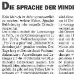 Die Sprache der Minderheiten - Artikel, ff, 06.08.1994