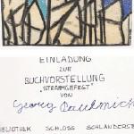 strammgefegt, Buchpräsentation - am 19.12.1987, Buchpräsentation, Bibliothek Schloss Schlandersburg