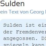 Sulden - ein Text von Georg Paulmichl