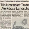 """Tilo Nest spielt Texte aus """"Verkürzte Landschaft"""""""