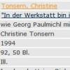"""""""In der Werkstatt bin ich ein Dichter"""", Dipl.-Arb., 1994"""