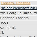 """""""In der Werkstatt bin ich ein Dichter"""", Dipl.-Arb., 1994 - wie Georg Paulmichl mit Dietmar Raffeiner Gedichte schreibt"""