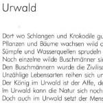 Urwald - ein Text von Georg Paulmichl