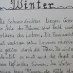 Winter - ein Text von Georg Paulmichl