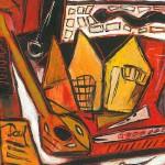 Ausstellung, Georg Paulmichl, Zürich - am 30.11.2001, Zürich, Zahnarztpraxis Löwenzahn